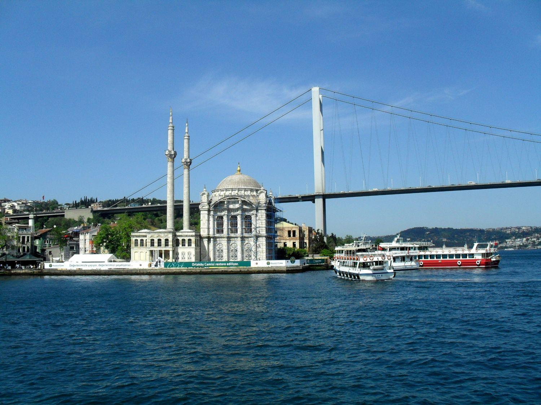 Ortaköy i Most Bosforski rejs statkiem po bosforze
