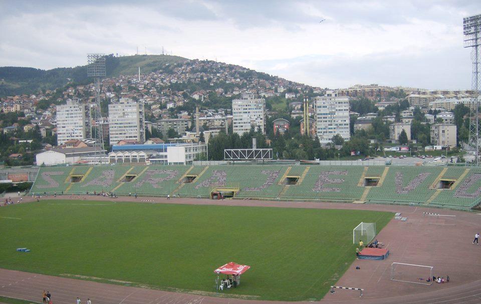 Stadion Kosevo/ fot. Sylwia Madej