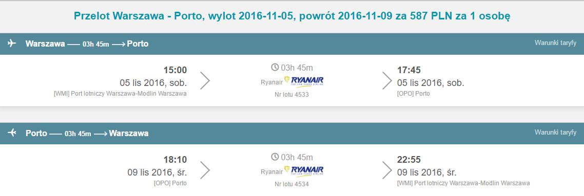 WAW-OPO-WAW 518