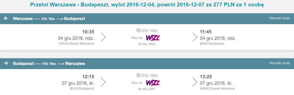 WAW-BUD-WAW 208