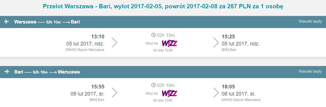 WAW-BRI-WAW 218