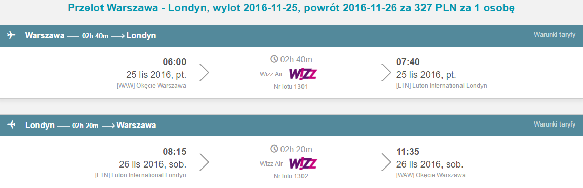 WAW-LTN-WAW 258