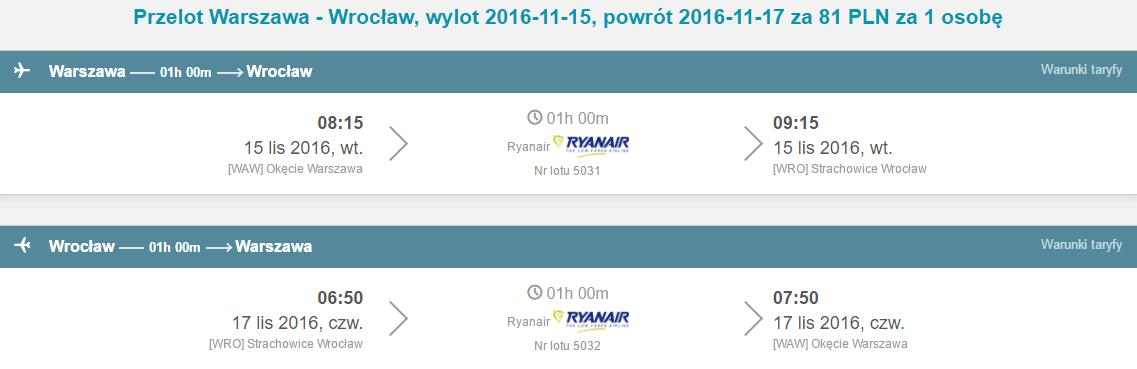 WAW-WRO-WAW 42