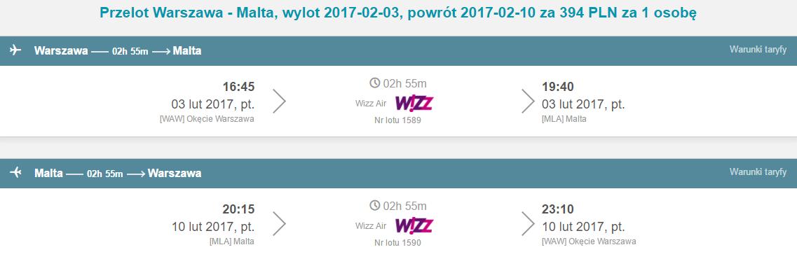 WAW-MLA-WAW 325