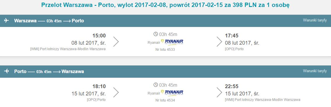 WAW-OPO-WAW 329
