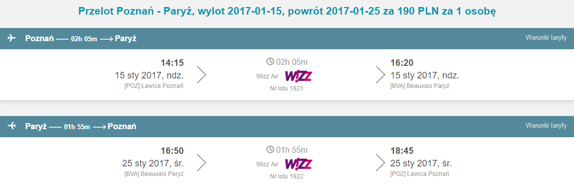 POZ-BVA-POZ 121