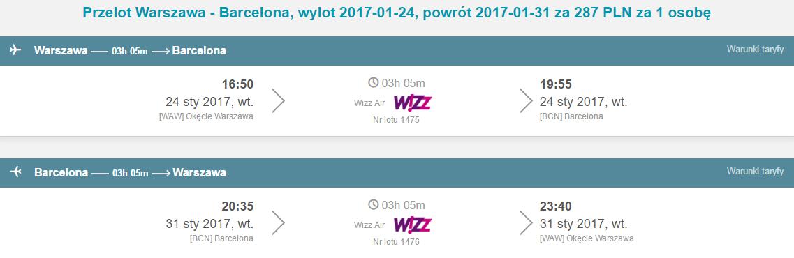WAW-BCN-WAW 218