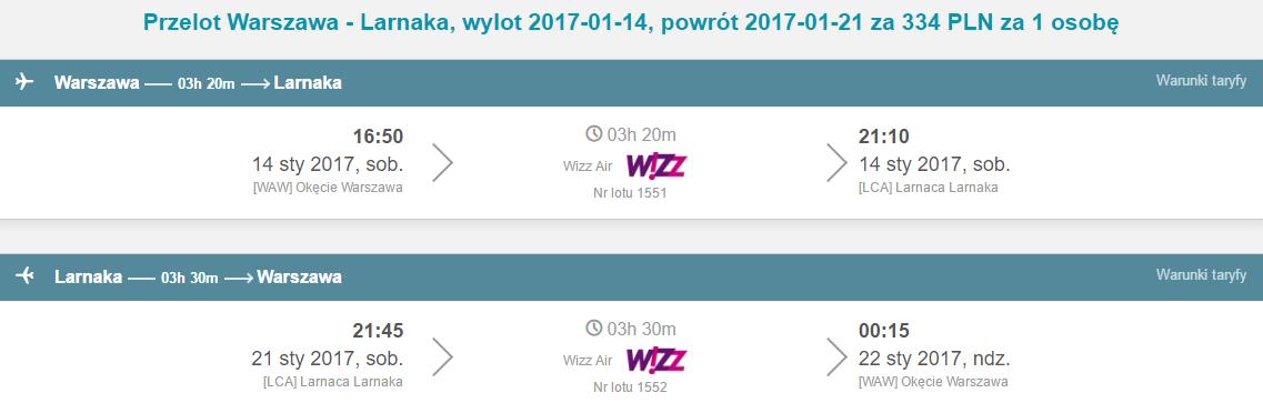 WAW-LCA-WAW 265