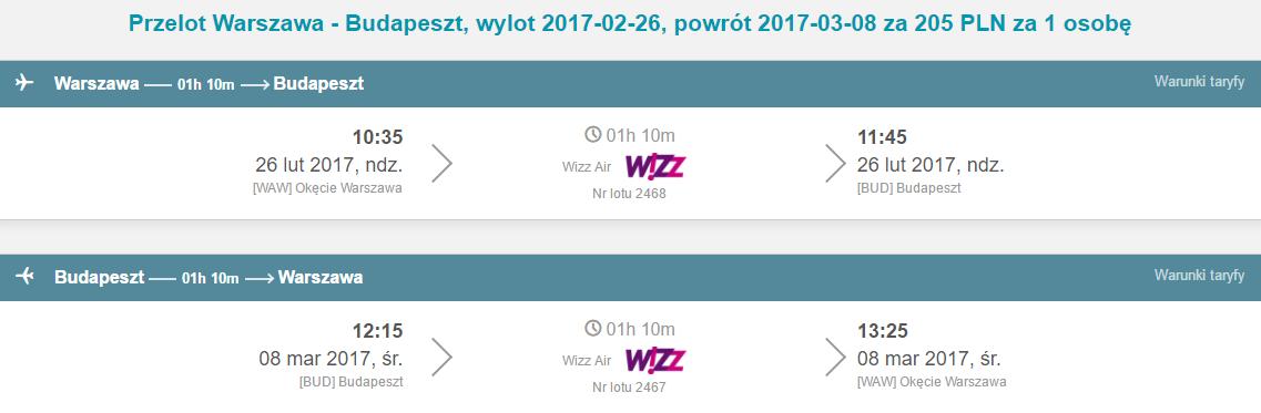 WAW-BUD-WAW 136