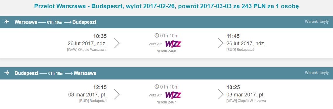 WAW-BUD-WAW 174