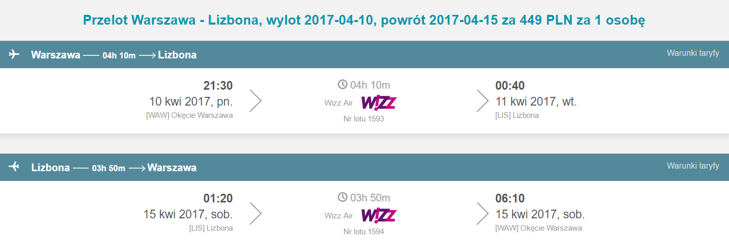 WAW-LIS-WAW 380