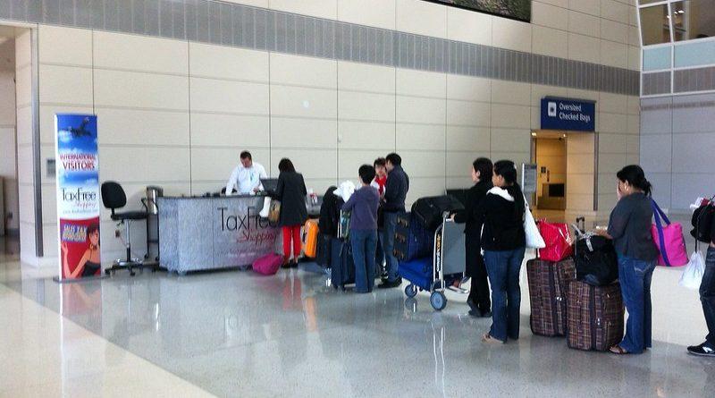 Strefa wolnocłowa na lotnisku