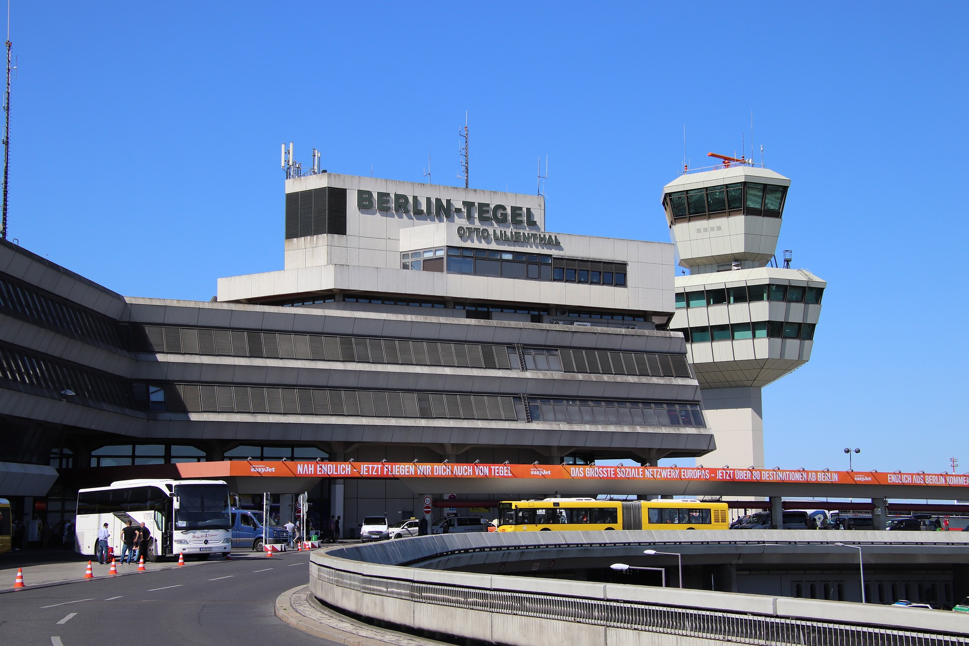 lotnisko Berlin - Tegel