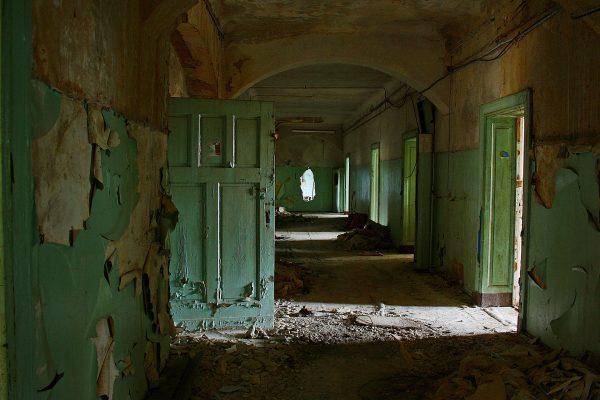 Beelitz-Heilstätten. Opuszczone miejsca.
