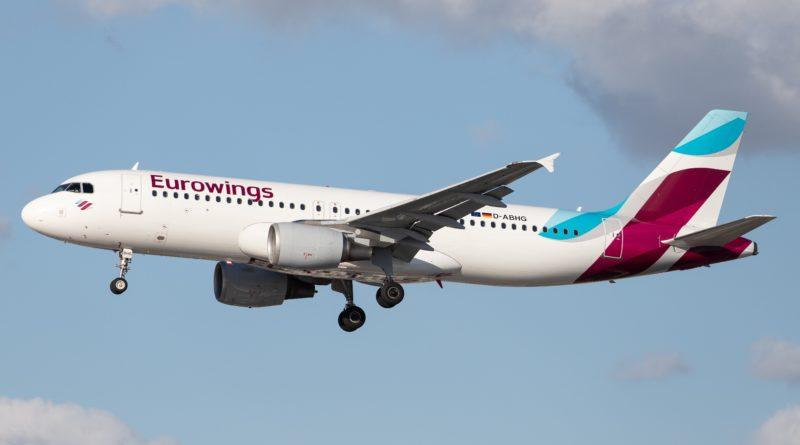 Linie Eurowings zawitają w kwietniu na lotnisku Berlin - Brandenburg