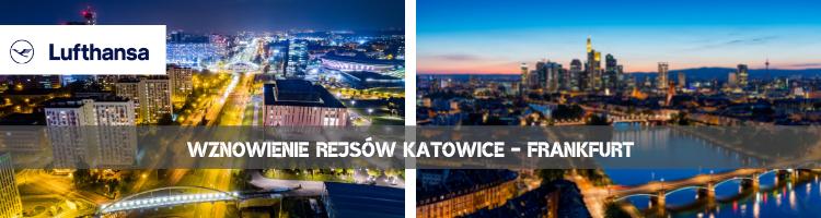 Lufthansa wznawia rejs Katowice - Frankfurt
