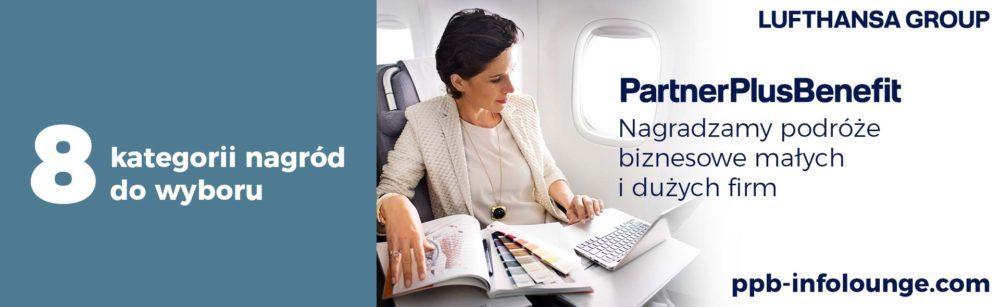 PartnerPlusBenefit to bezpłatny program premiowy - źródło: Lufthansa
